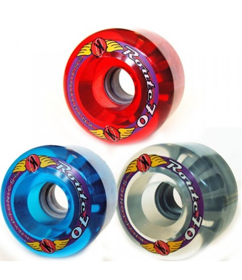 Kryptonics Route Longboard Wheels - 70mm / 78A - Various Colours Available
